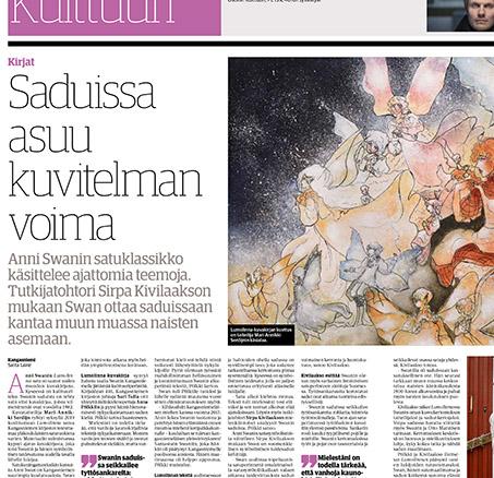 Saduissa asuu kuvitelman voima Keskisuomalainen 13.8.2020